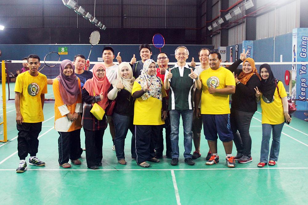 Pertandingan Badminton Sasbadi 2016