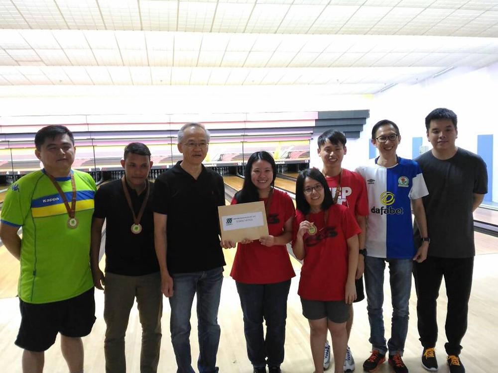 Pertandingan Boling SRC 2017