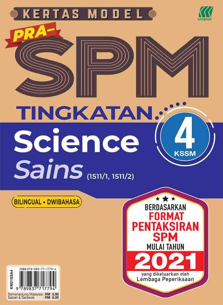 Kertas Model Pra-SPM