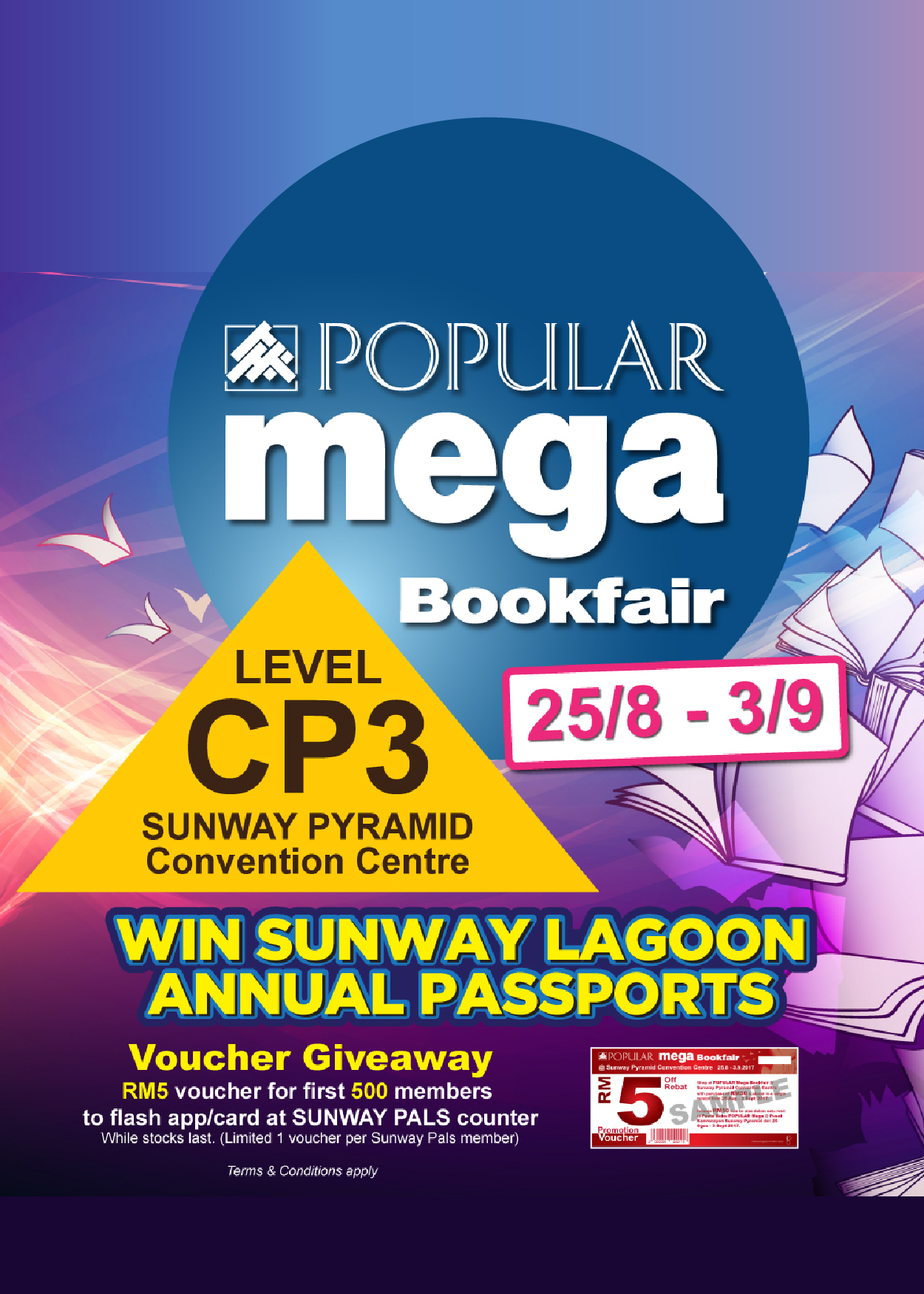 Popular Mega Bookfair @ Sunway Pyramid Convention Centre
